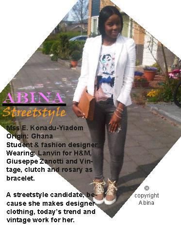 Street Style Yiadon Abina